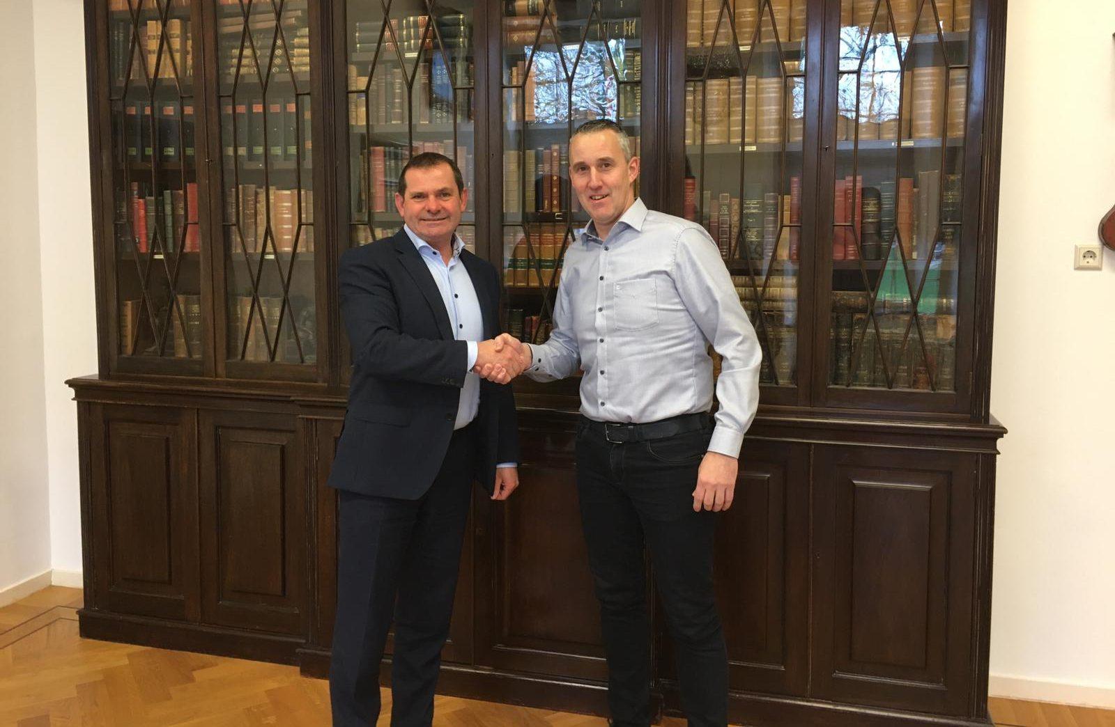 Nieuw contract met de hoofdsponsor Bongers & Lemmers