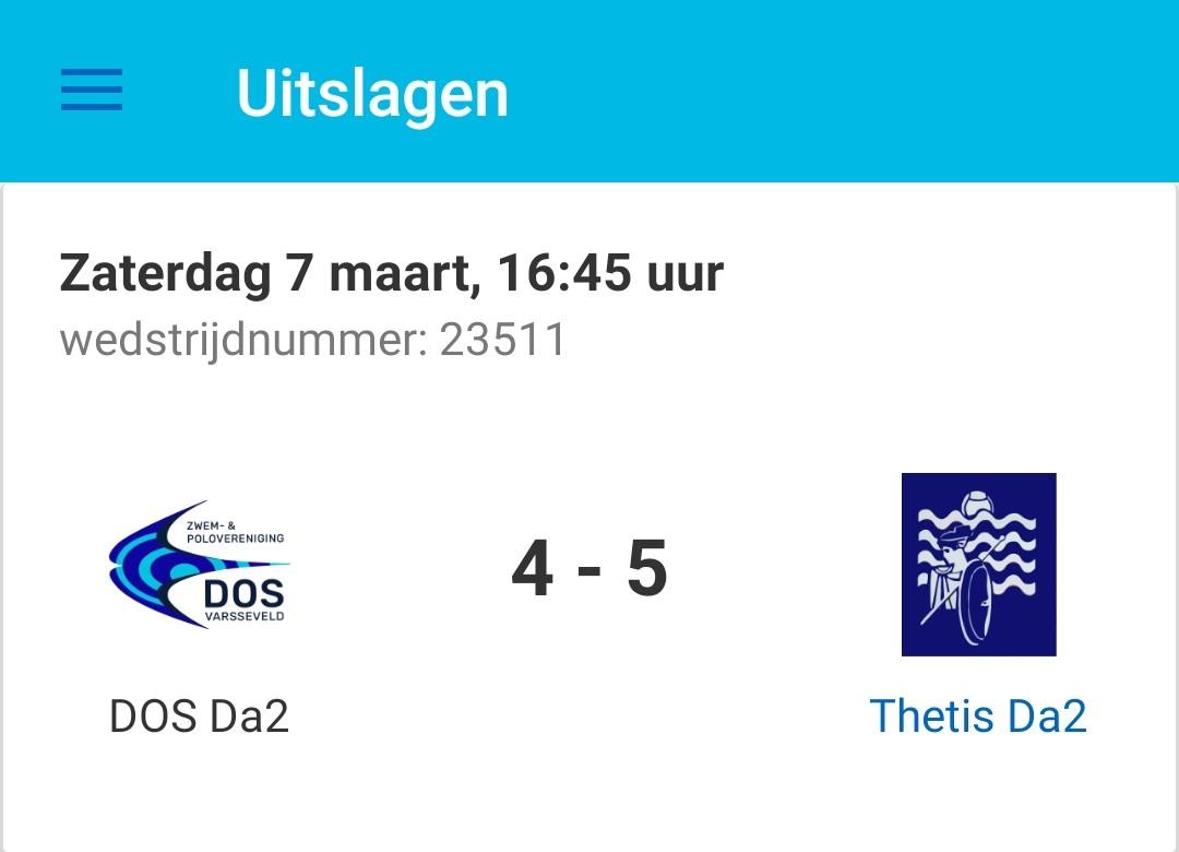 DOS Da2 - Thetis Da2